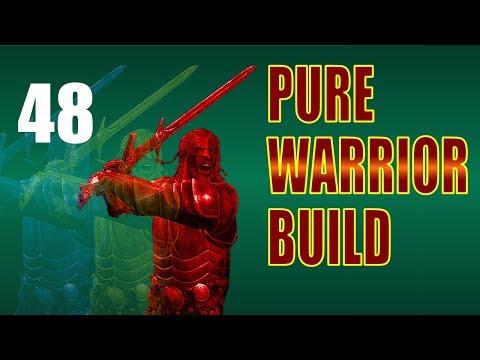Skyrim Pure Warrior Walkthrough NO MAGIC, SURVIVAL Part 48: Final Build, New Gear thumbnail