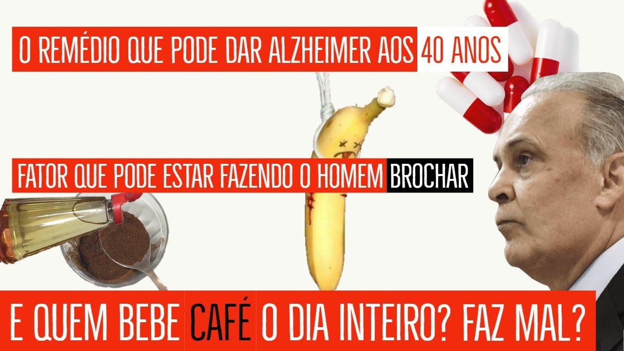 E quem bebe café o dia inteiro? - Remédio que pode causar Alzheimer precocemente  《Dr. Lair Ribeiro》