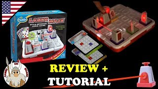 How to play Laser Maze, Review & Tutorial (English) Board Games -Games On Board-