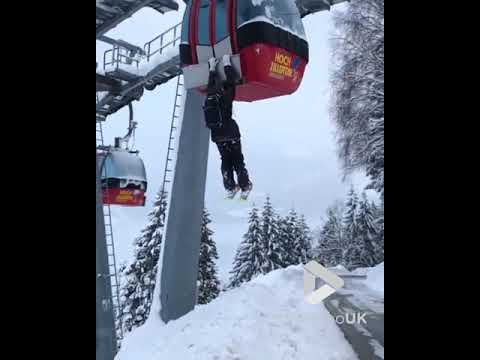 Fisher - New Way To Use A Ski Lift