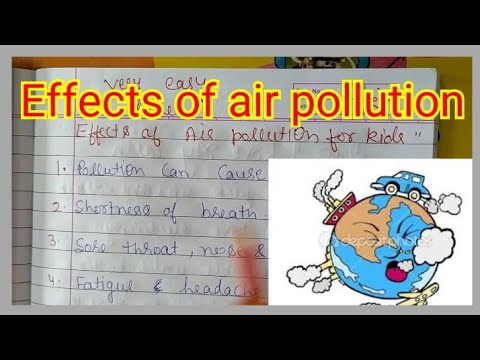 10 lines on pollution // effects of solution //very easy