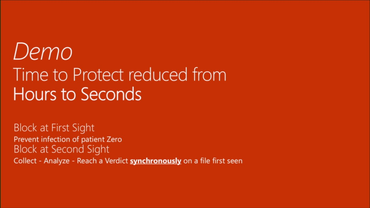 Microsoft Ignite 2016 Protect your endpoints from malware threats with Windows Defender and SCEP