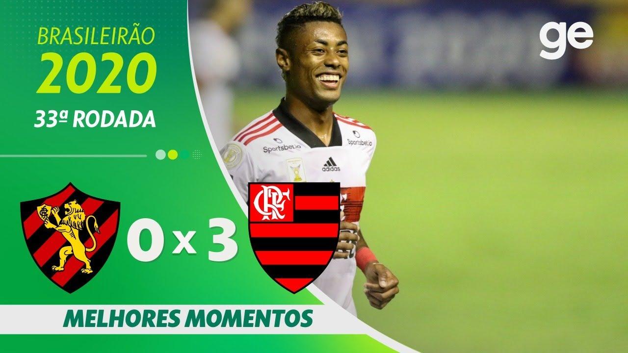 SPORT 0 X 3 FLAMENGO | MELHORES MOMENTOS | 33ª RODADA BRASILEIRÃO 2020 | ge.globo