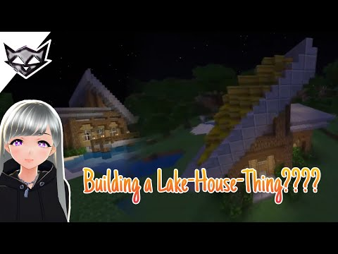 Errr- Building a Lake-House-Thing??? | Minecraft Timelapse 💜