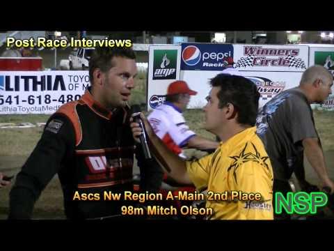 7-16-2012 Ascs Northwest Region Post Race Interviews Southern Oregon Speedway