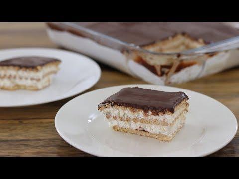 No-Bake Biscuit Cake Recipe