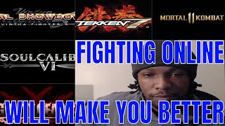 Fighting Online WILL make you better at Fighting Games! (Fighting Game Advice)