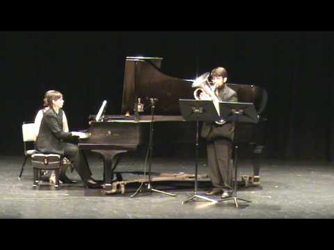 Gaines: Euphonium Concerto - 2. Vivace (conclusion) - 3 of 4