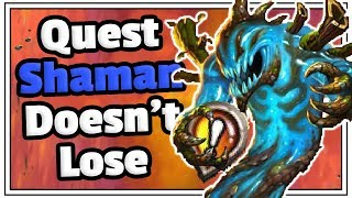 Quest Battlecry Shaman Doesn't Lose - Deck Guide - Saviors Of Uldum - Hearthstone