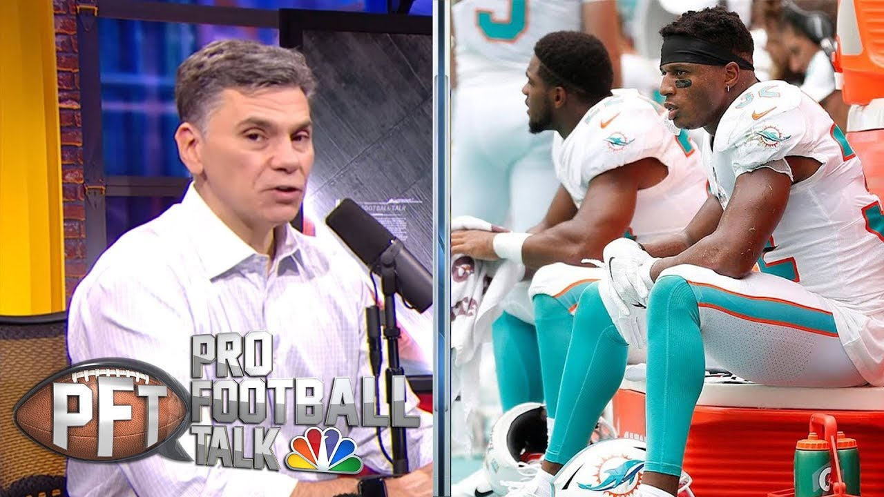Miami Dolphins players not interested in tanking | Pro Football Talk | NBC Sports