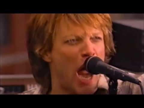 """""""IT'S MY LIFE"""" Bon Jovi (Late Show - NY-USA 2000 - Roftop) HD + UPGRADE"""
