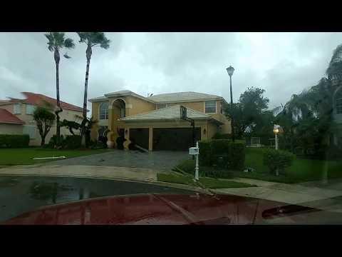 Hurricane Irma 2017 (Boca Falls) Post Storm Boca Raton FL