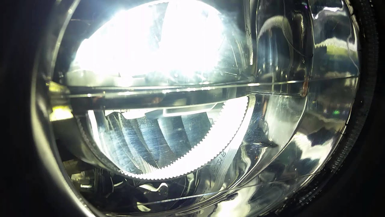 Bmw X5 Led Retrofit Fog Light Output Youtube