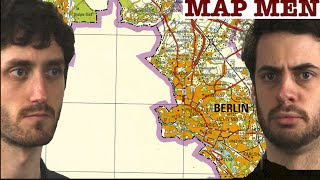 Why is there a BLANK space in this map of East Berlin?