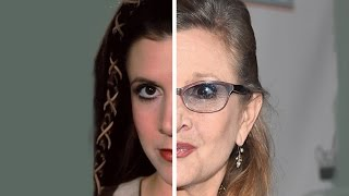 The Cast Of The Original Star Wars Then Vs. Now
