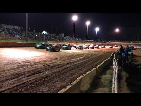 SCDRA Race start at Cherokee Speedway 3/17/18
