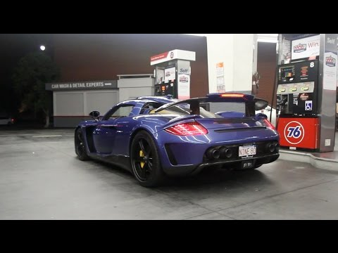 LOUD Gemballa Mirage GT Says 'Hi' to Beverly Hills