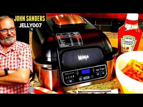 ninja-foodi-pro-grill-|-air-fry-french-fries-|-2lbs-air-fryer-fried-ore-ida-golden-crinkles