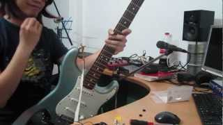 Hướng dẫn lắp Strap Locks cho guitar
