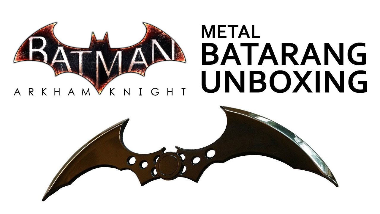 "DC Comics Batman Arkham Knight BATARANG 7/"" Letter Opener NEW Very Cool!!"