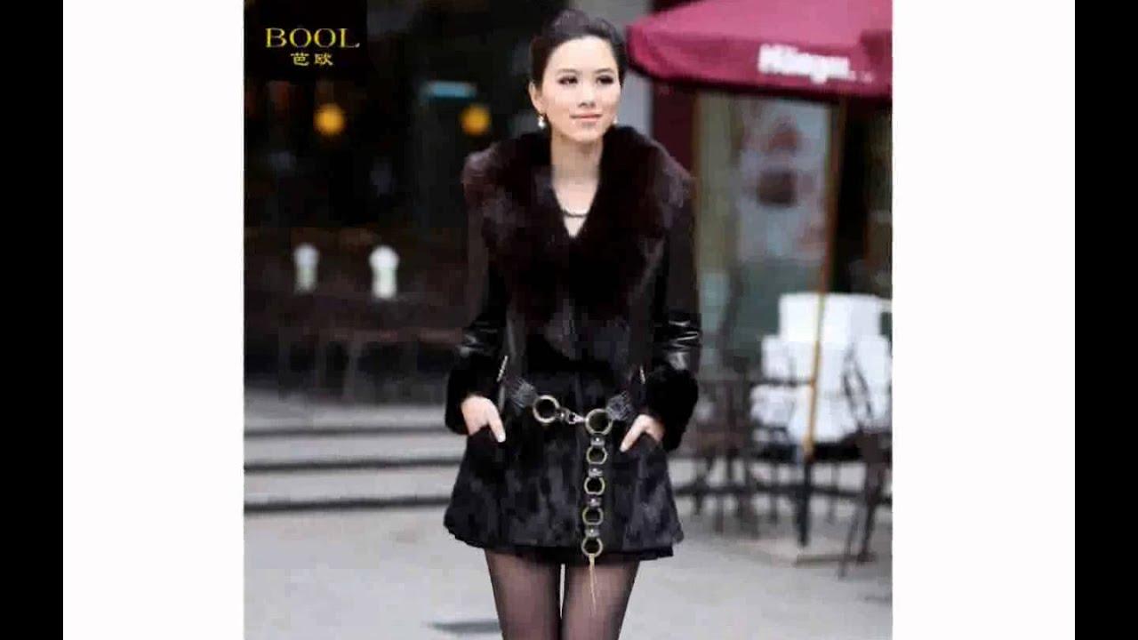 Женское зимнее пальто Грейс от VOL ange - YouTube