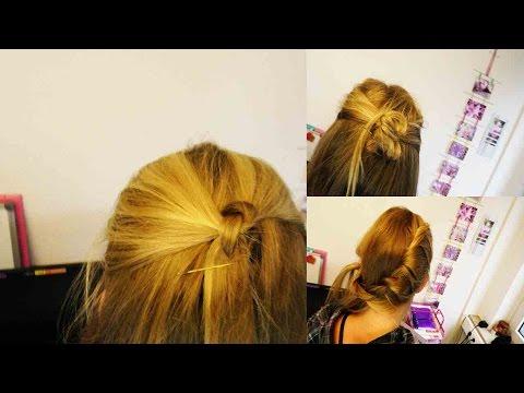 3 Tolle Frisuren mit offenen Haaren | Ideen für lange Haar | Festliche Frisuren selber machen