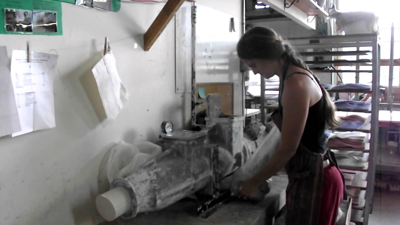 Pugging Clay At Natalie Blake Studios Youtube
