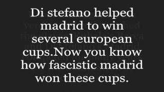 Cheating madrid stole di stefano from Barça