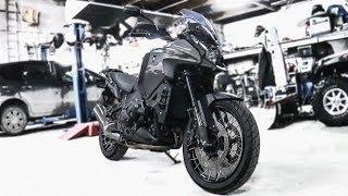 Когда приходится учиться водить мотоцикл заново. Honda VFR1200X Crosstourer
