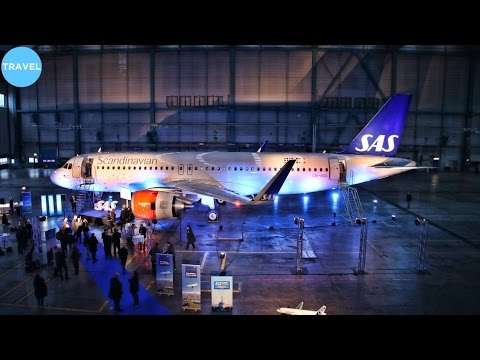 DELIVERY AND CABIN TOUR | SAS Airbus A320neo at Stockholm Arlanda!