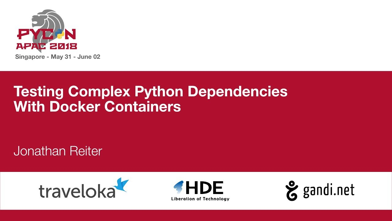 Image from Testing Complex Python Dependencies With Docker Containers