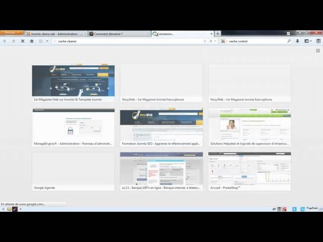 Joomla 3 - Utilisation et gestion de la mise en cache sous Joomla 2.5