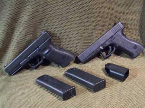 Glock Model 17 1st, 2nd & 3rd Gen Gun Comparasion
