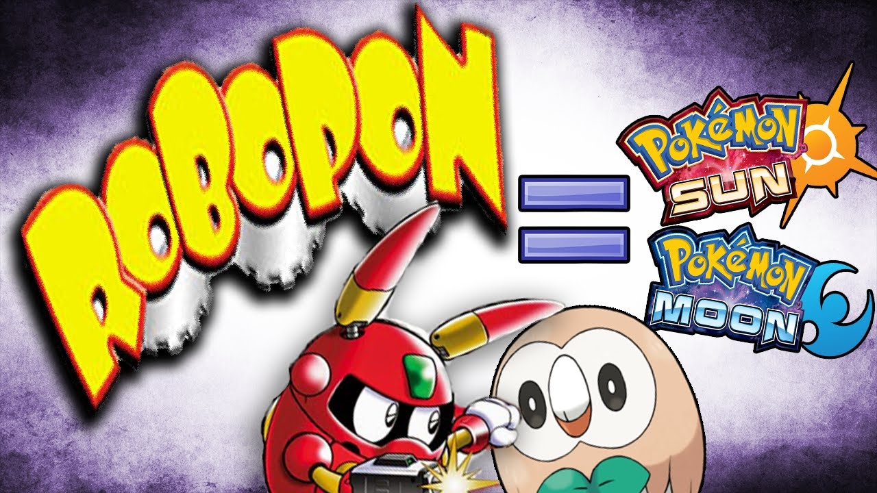 Early Sun And Moon Playthrough Playing Robopon With Amightymandals Pokemonprofessork Youtube
