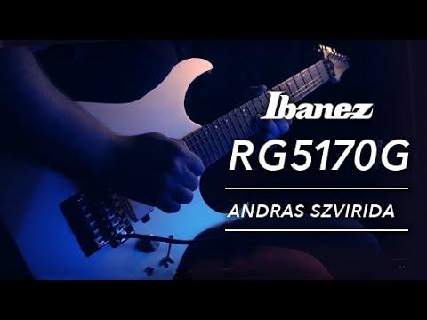 Ibanez RG5170G tone test by Andras Szvirida