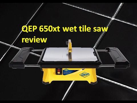 qep 650xt wet tile saw review 22650q