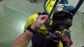 IRATA L3: Rescue past knots