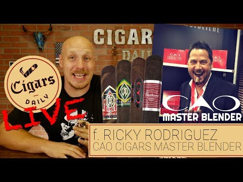 Cigars Daily LIVE (f. Ricky Rodriguez, CAO Cigars Master Blender)