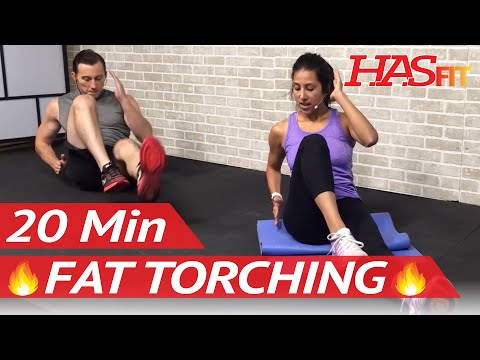 20 Min Fat Burning Workouts to do at Home without Equipment for Men & Women to Lose Weight Fast