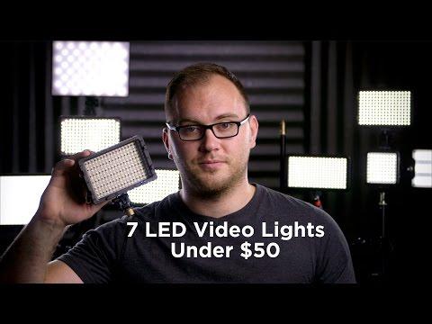 7 Great Video LED Lights Under $50
