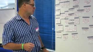 BrandLove Customer Experience Trends Workshop - Luke Harwood giving Feedback
