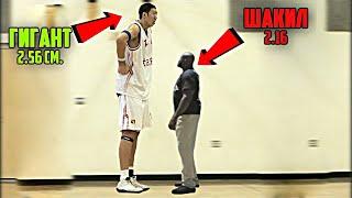 5 ГИГАНТОВ, КОТОРЫХ НЕ ВЗЯЛИ В НБА (Даже Шакил Онил на их фоне малыш)