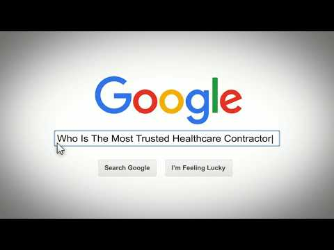 Google Search The Most Trusted Healthcare Contractor