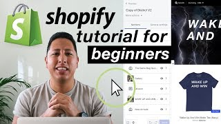 SHOPIFY TUTORIAL FOR BEGINNERS | MAKING AN ONLINE SHOPIFY STORE 2018