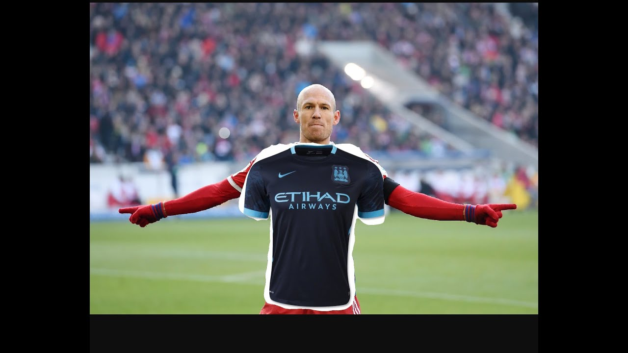 Arjen Robben at Manchester City My career fifa 16