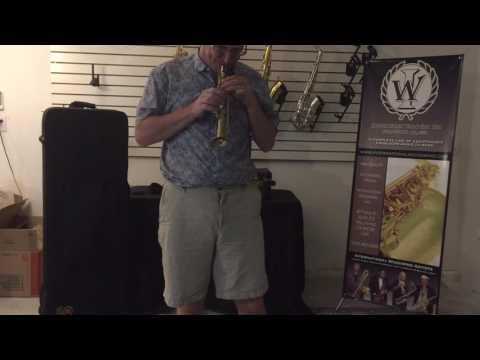 Soprillo saxophone demo