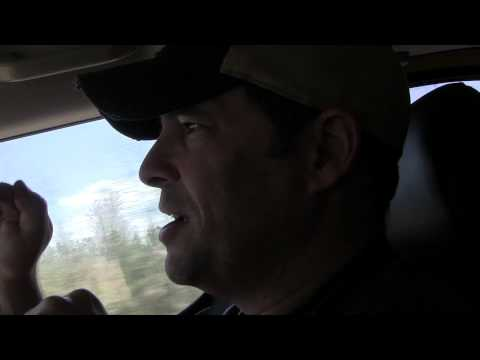 Rob Discussing Trash on the Side of the Road - Mississippi Investigation 2013