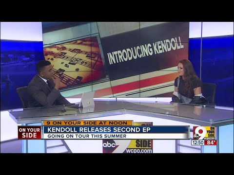 Cincinnati Singer Kendoll Talks about Her Music on 9 On Your Side at Noon
