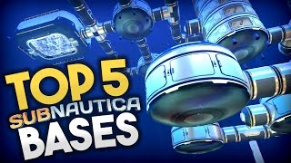 Download lagu Subnautica TOP 5 SUBNAUTICA BASES Best Base Creations Subnautica Early Access Gameplay MP3