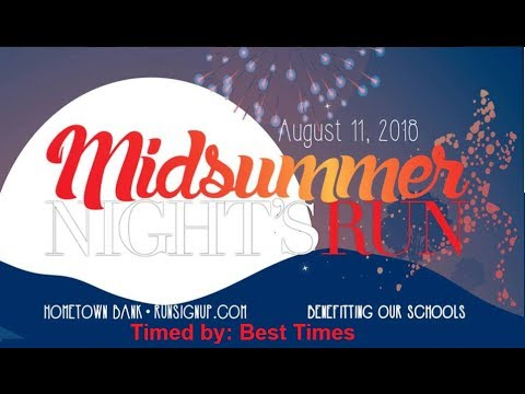 Midsummer Summer Night 5K 2018 (Oneonta, AL)